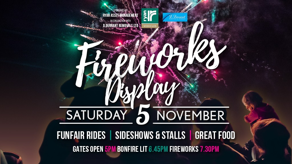 Lingfield Park fireworks display